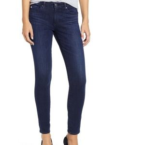 AG jeans- the abbey ankle mid rise jean legging